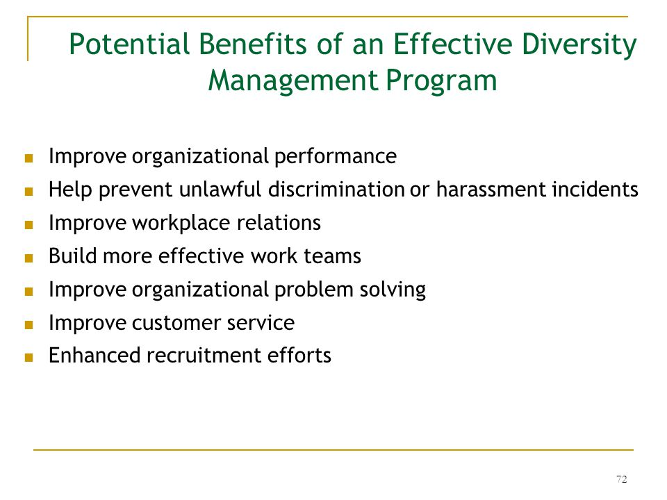 performance management and diversity How diversity makes us smarter financial performance, racial diversity and the emphasis on corporate management boards and financial performance.