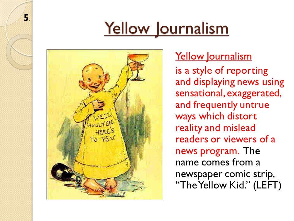 Yellow Journalism William Randolph Hearst