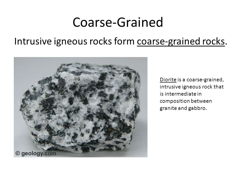 Igneous, Sedimentary & Metamorphic Rocks - ppt video online download
