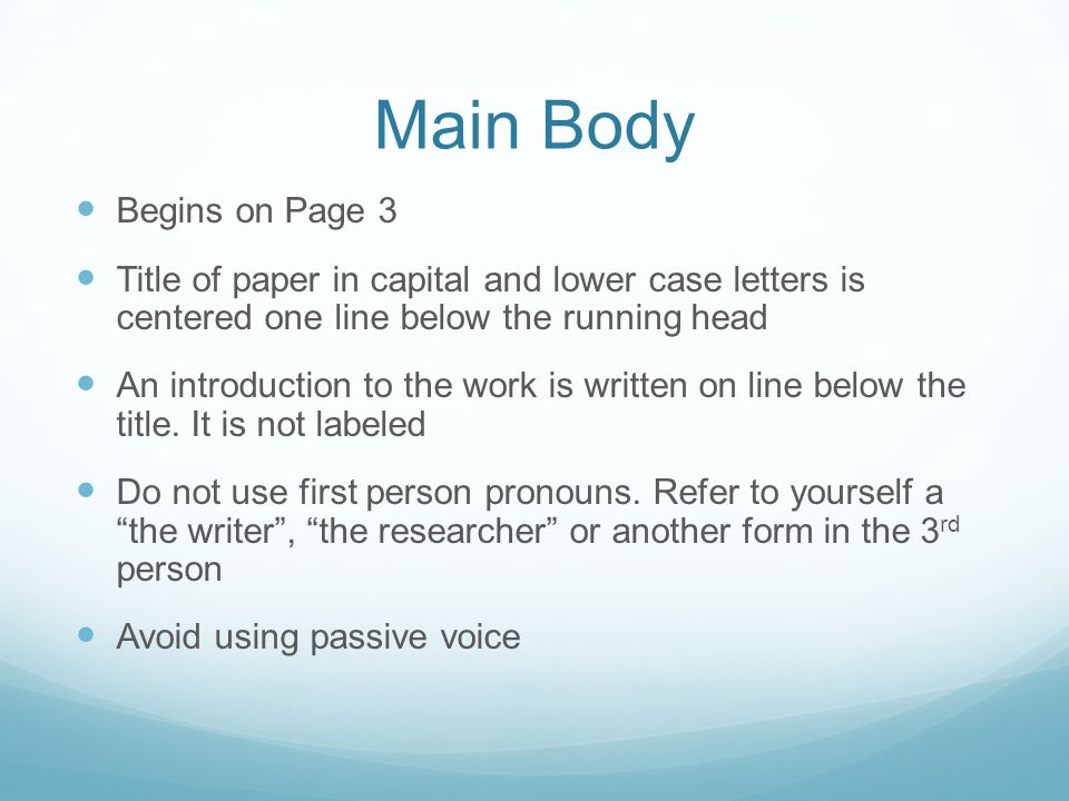 Main++Begins+on+Page+3 Table Of Contents Apa Format Example Paper on for thesis, for figures, for manuscript, how make,