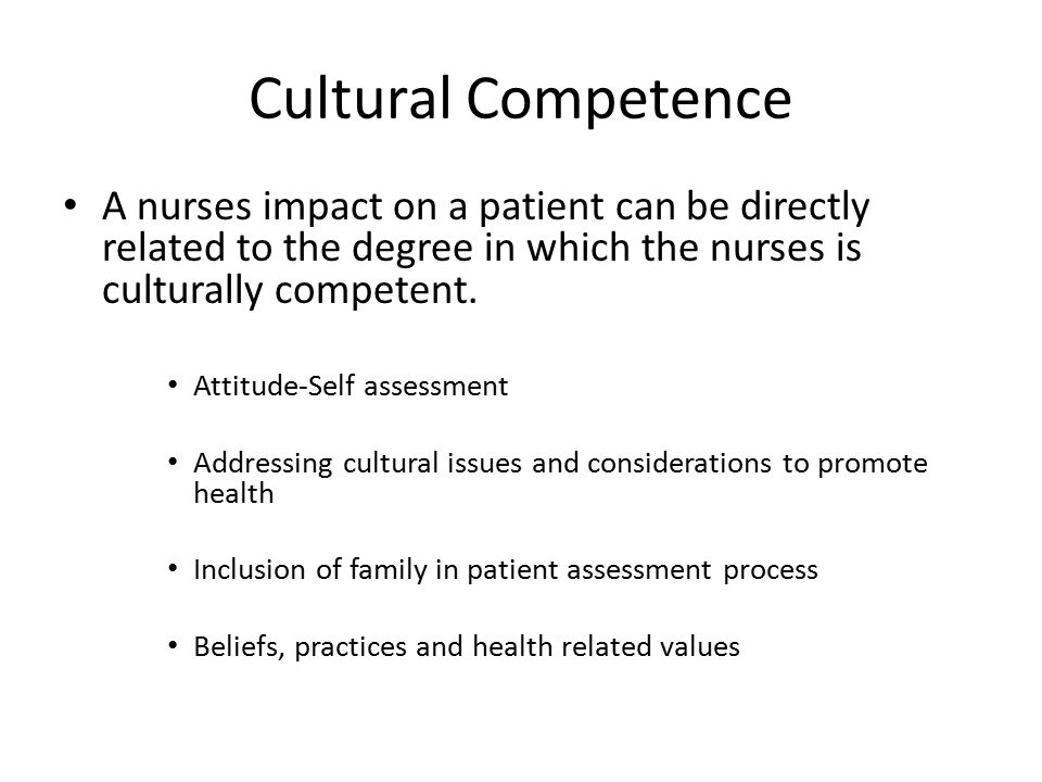addressing cultural health care needs This moves health care beyond repairing the abnormal physiology,  addressing the psychological and social needs of patients should be a theme that runs through all.