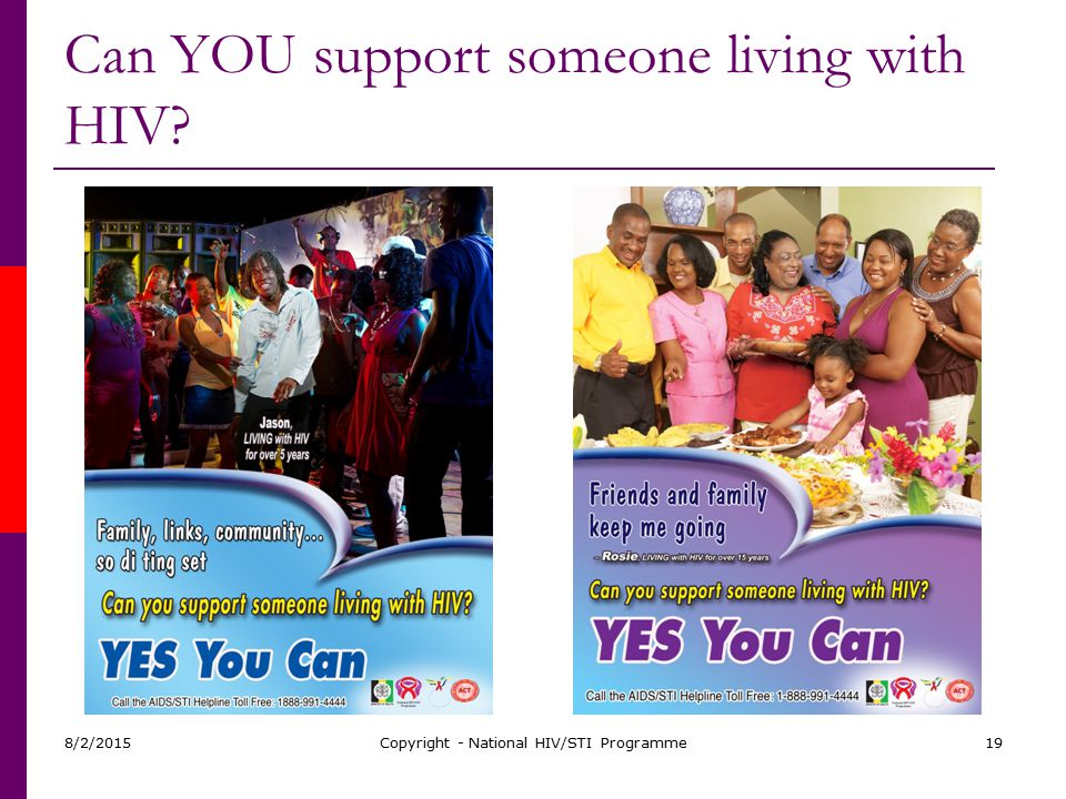 Can YOU support someone living with HIV
