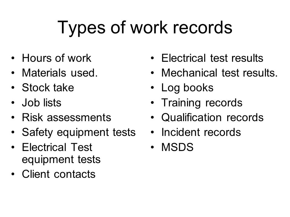 Types Of Electrical Testers : Skillstech australia records reports stage units