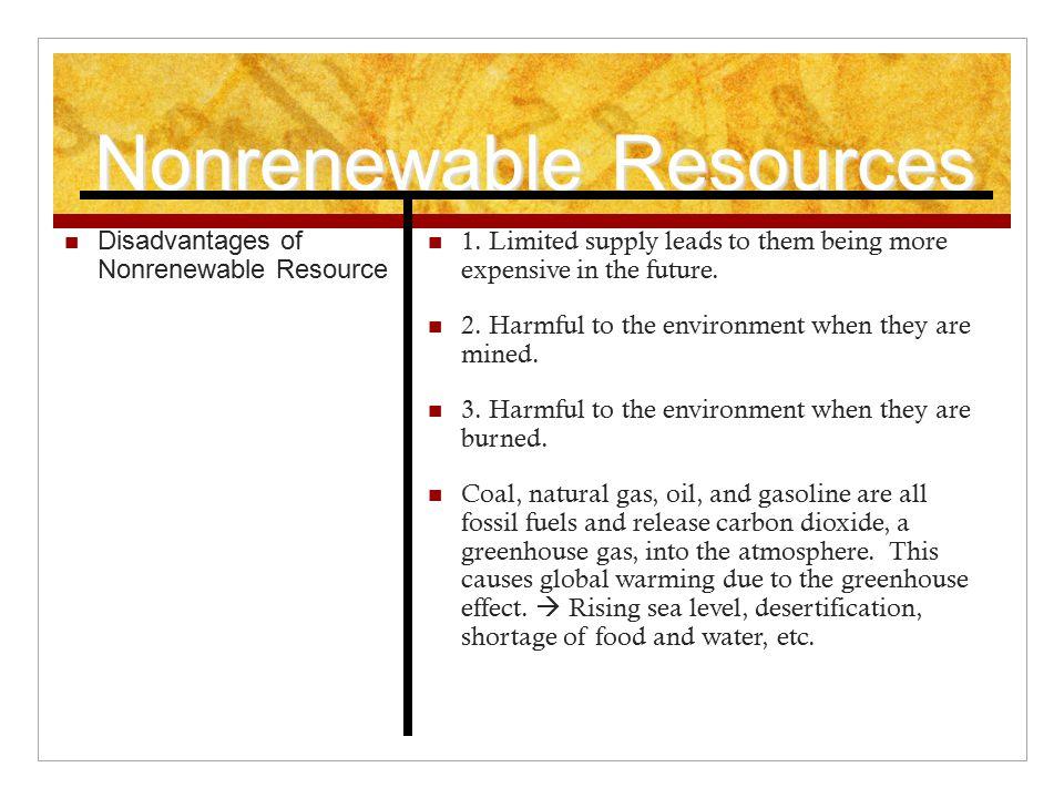 Nonrenewable Vs Renewable Resources Ppt Video Online