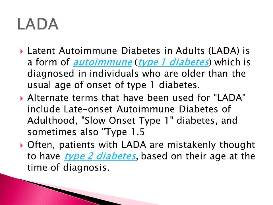 Diabetes symptom adult