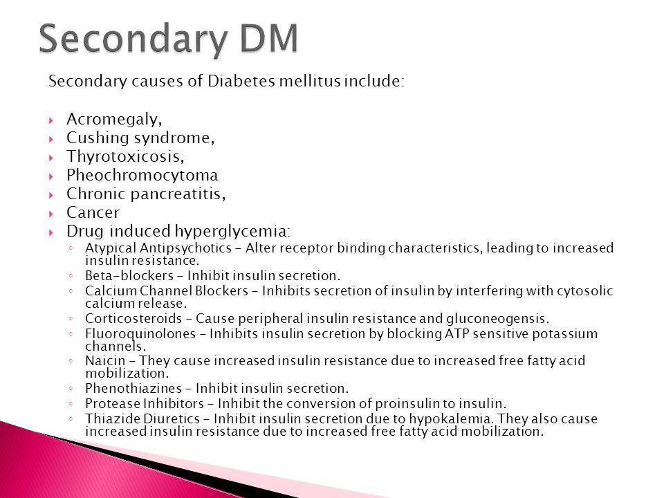 causes of diabetes mellitus pdf
