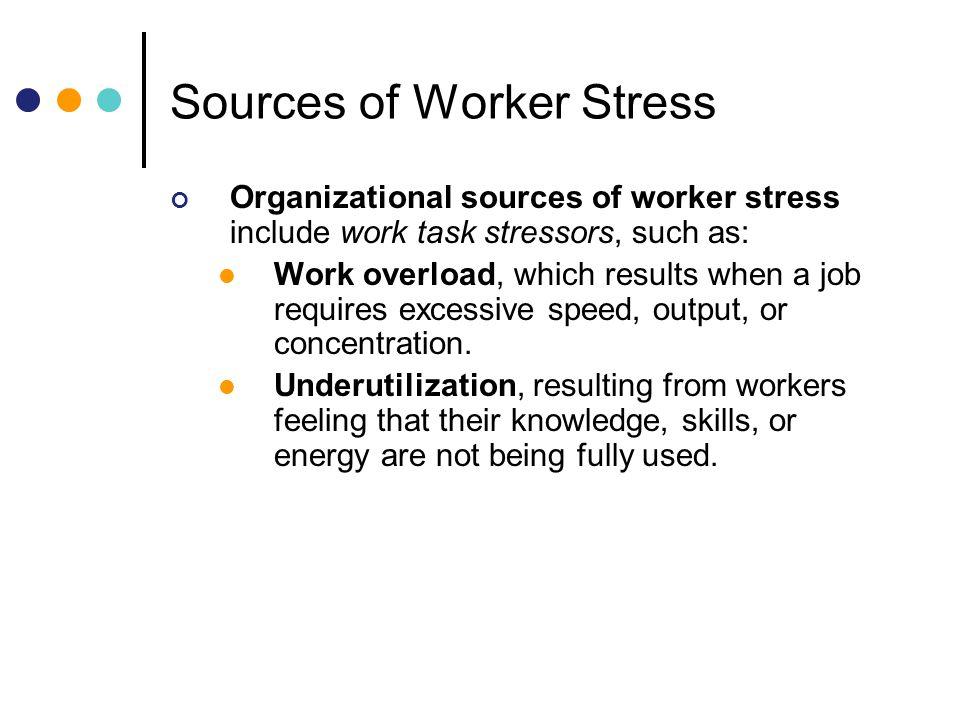 stress of employee