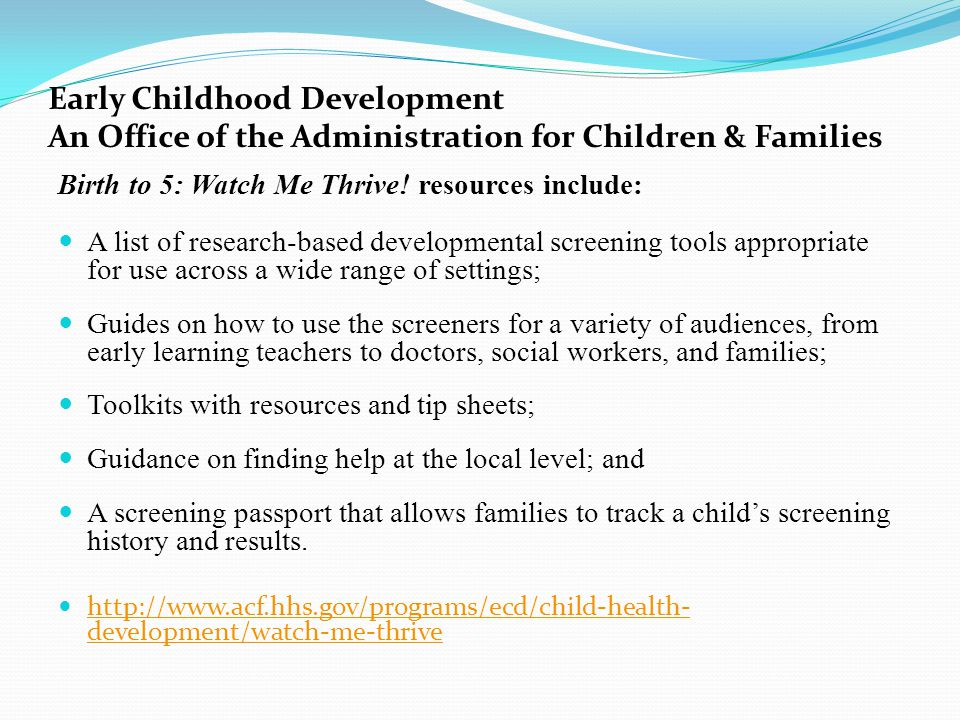 Early childhood education entrepreneurship expo ece3 ppt download early childhood development an office of the administration for children families sciox Choice Image