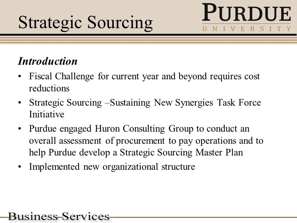 3 steps to strategic sourcing