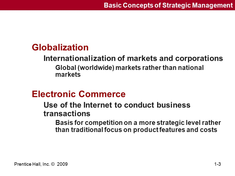 Globalization Electronic Commerce