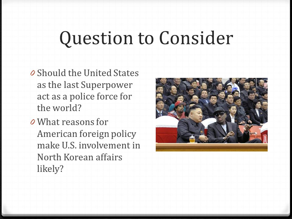 the us foreign policy and the rise of the superpower The brilliant incoherence of trump's foreign policy the united states periodically debates whether to do more or less abroad the rise of the islamic state.