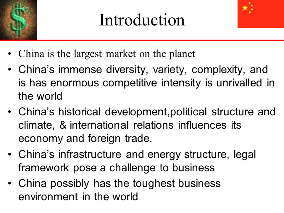 china political and legal environment China in september introduced the world's most ambitious new  companies in  the sector respond to the new regulatory environment, and who.