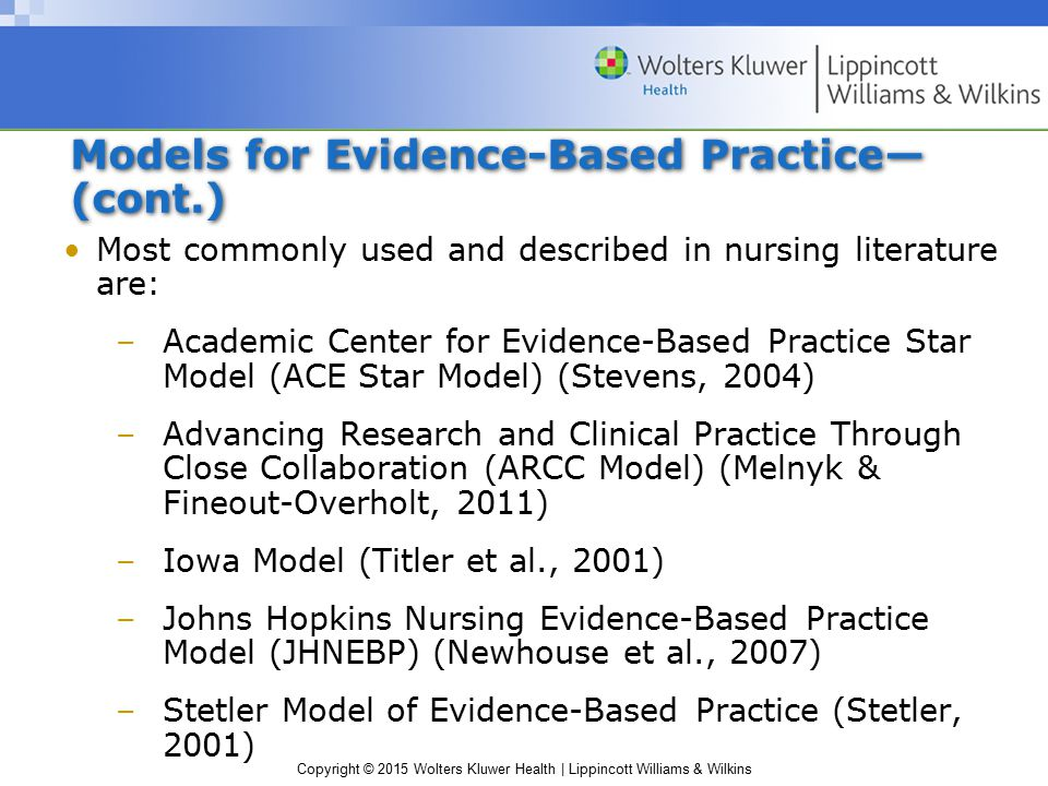 similarities between iowa model and stetler model Objectives distinguish between evidence based practice and nursing researchreview the iowa model slideshow 257318 by lorant.