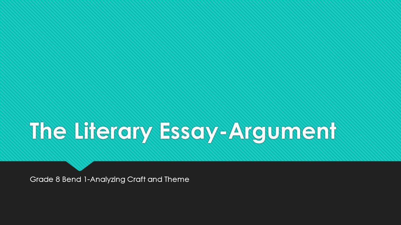 The Literary Essay Exam How to Write A Short Answer Essay - PowerPoint PPT Presentation