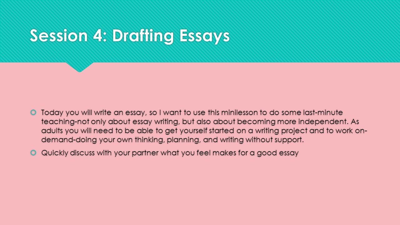 how to write a good essay ppt The ultimate guide to writing perfect research papers, essays  logical steps to writing a good an oral or multimedia presentation with audio.