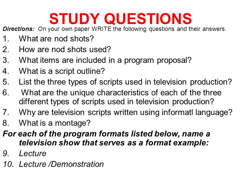 Broadcast Scripts Acct Bvp1 5 Students Will Identify And Create