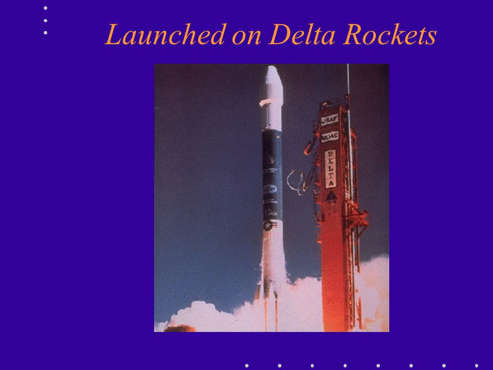Launched on Delta Rockets