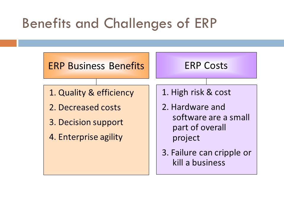 the challenges in implementing erp systems 5 steps to successful erp implementation by sean w o'donnell, president, datacor, inc  improve profitability and keep customers satisfied companies are increasingly implementing enterprise resource planning (erp) software solutions to  integration issues are resolved to ensure the software works in concert with other systems.