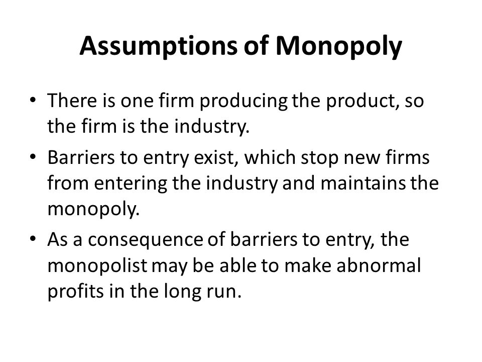 Monopoly: Compilation of Essays on Monopoly | Markets | Economics