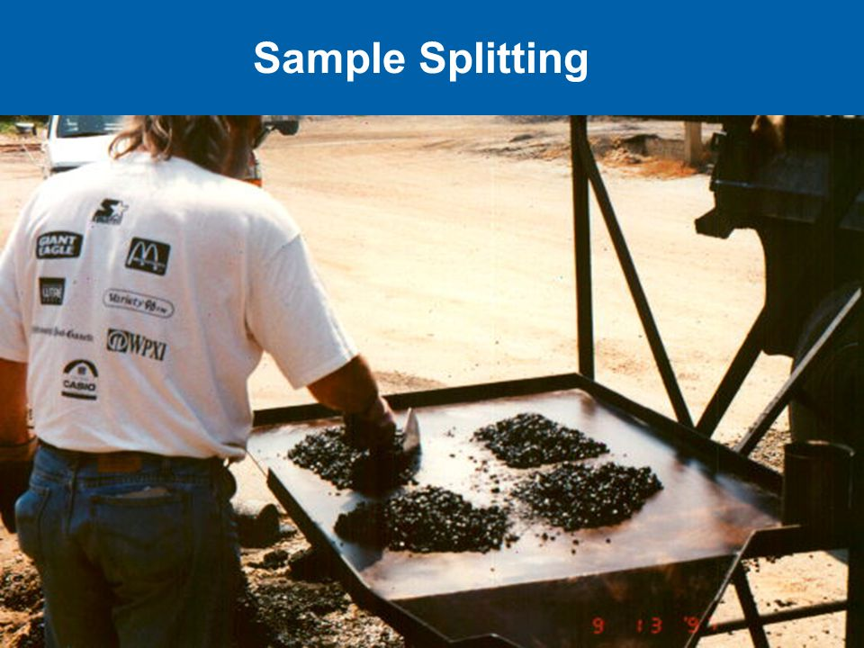 Sample Splitting