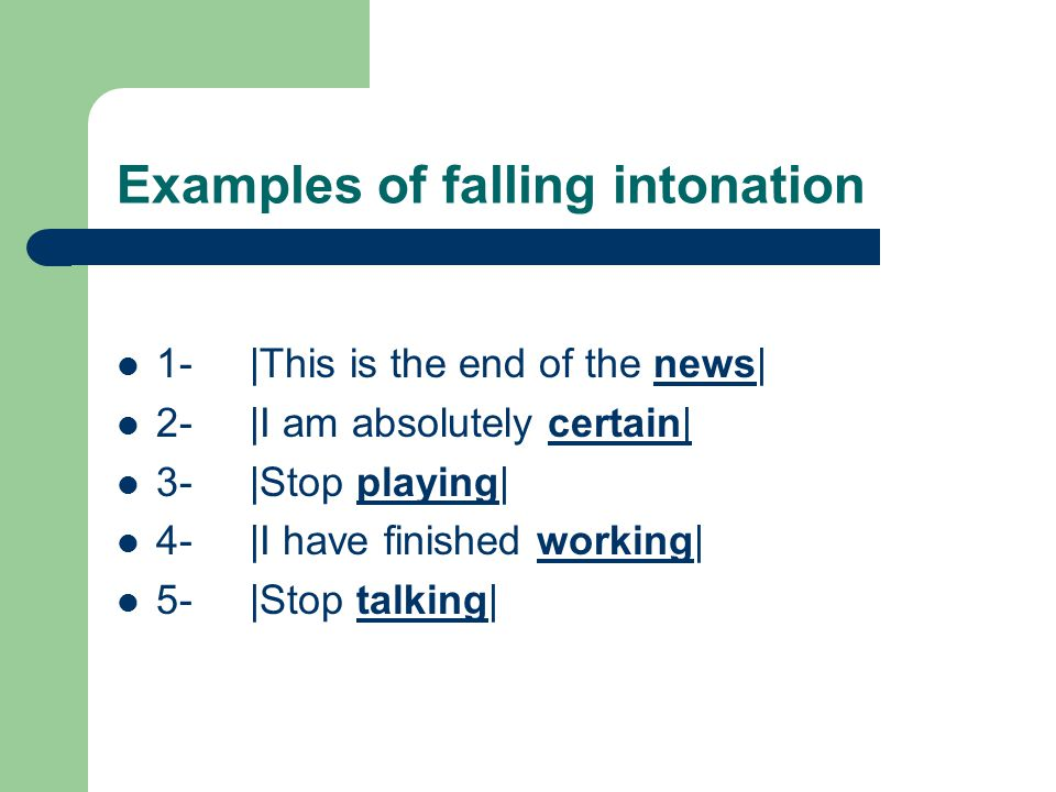 Functions Of Intonation Ppt Video Online Download