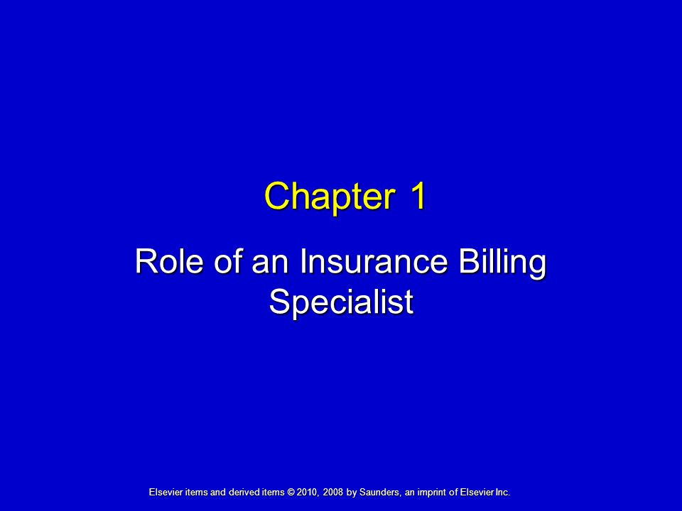 Role of an Insurance Billing Specialist