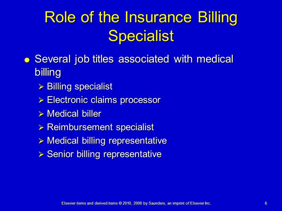 insurance biller job