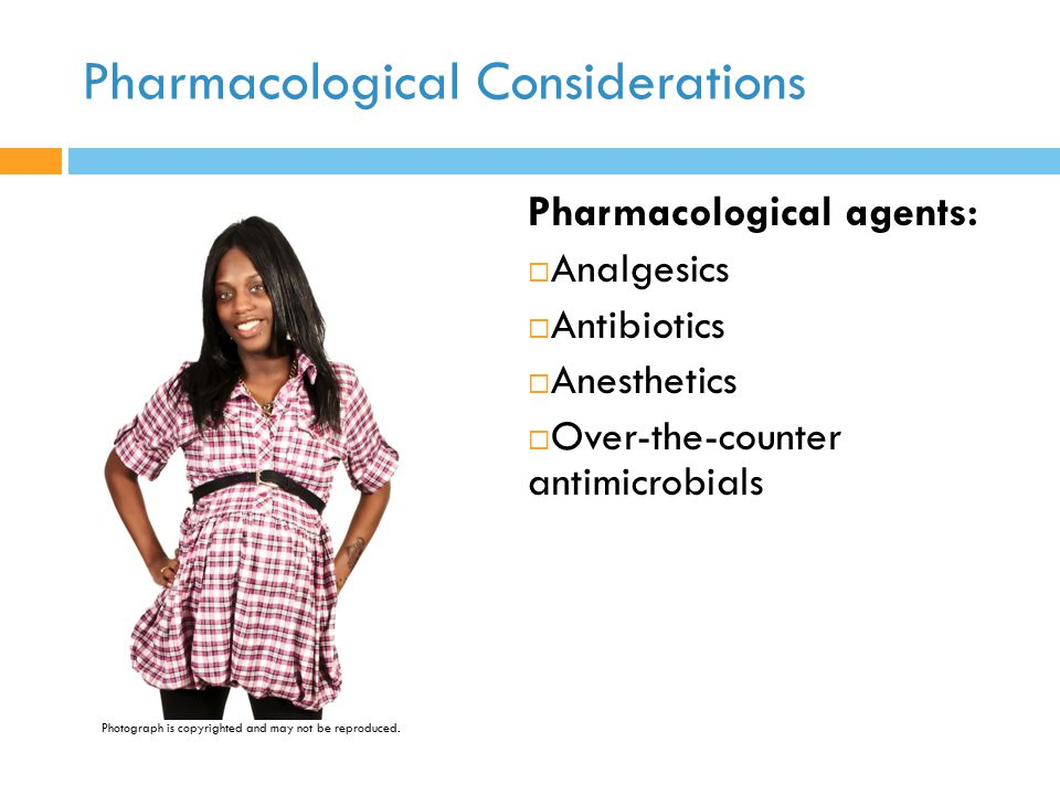 Pharmacological Considerations