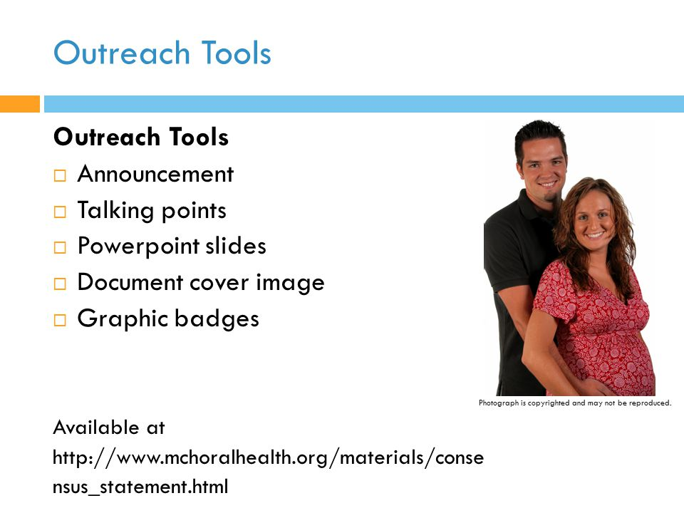 Outreach Tools Outreach Tools Announcement Talking points