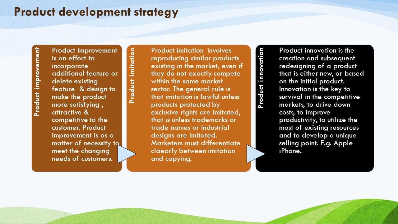 Unit 1 services management introduction to marketing what for Product design strategy