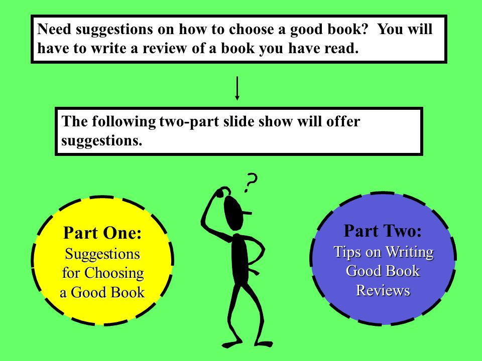 tips on writing a good book report This guide to writing a book review will include the purpose of a book review and tips for good writing a book report is a summary and its structure is simpler.