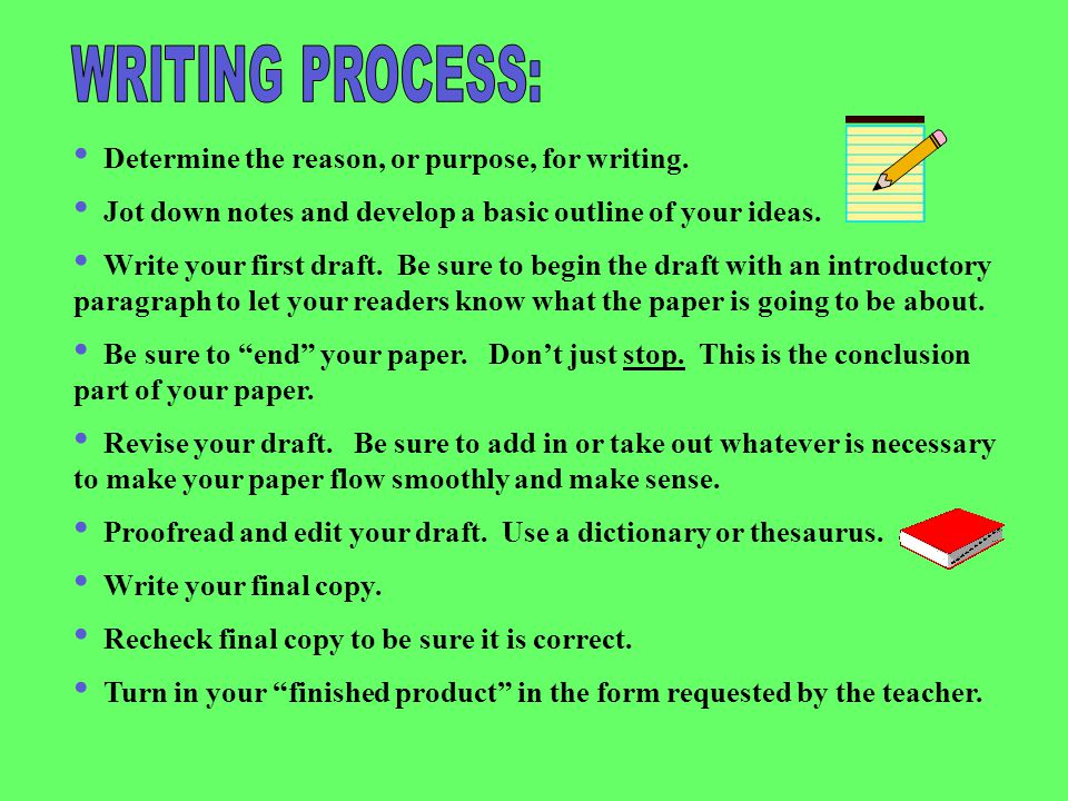 writing book process essay Book agents sign up to our essay on writing process because editing essay writing may cause and effect essay writing process seem to be trivial task.