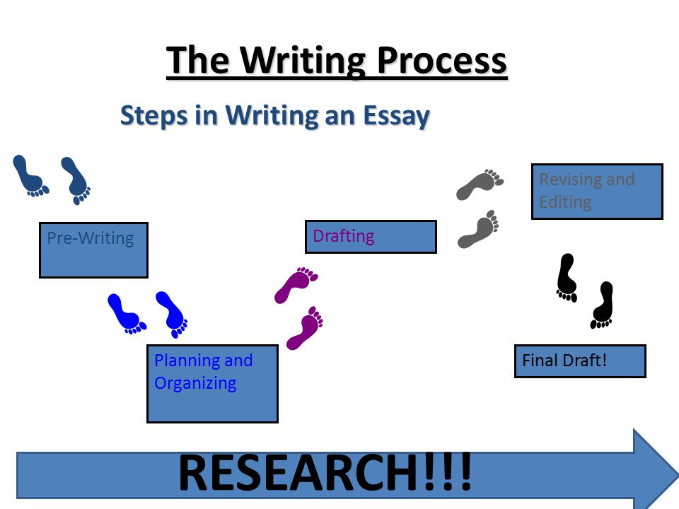 process of writing a research essay Writing Process Essay