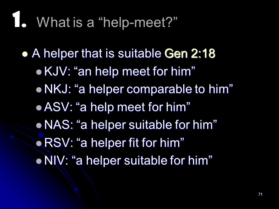 what is help meet