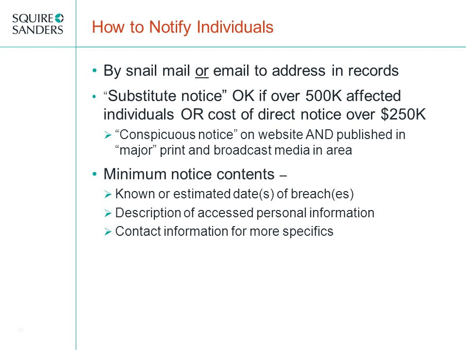 how to notify email address change