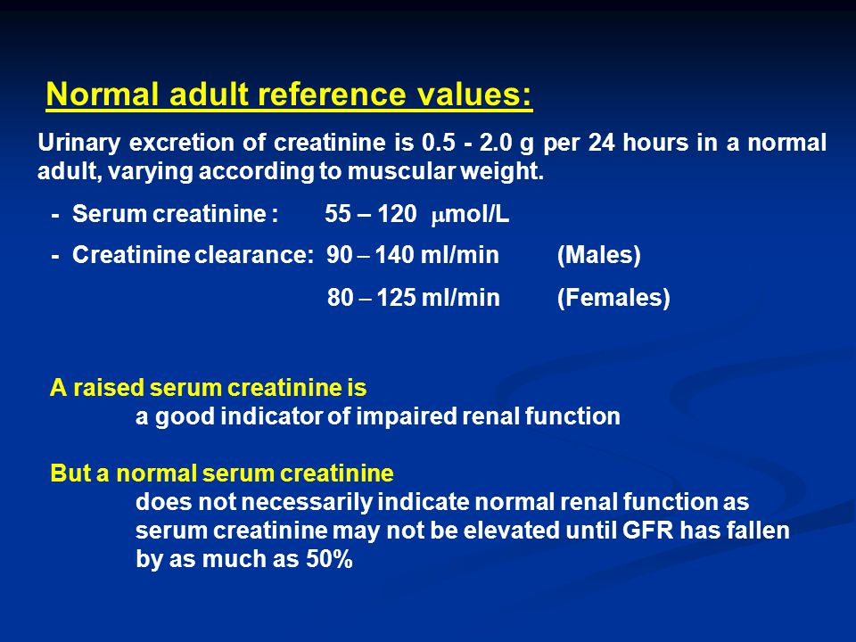 Normal ml of urine for adult that can