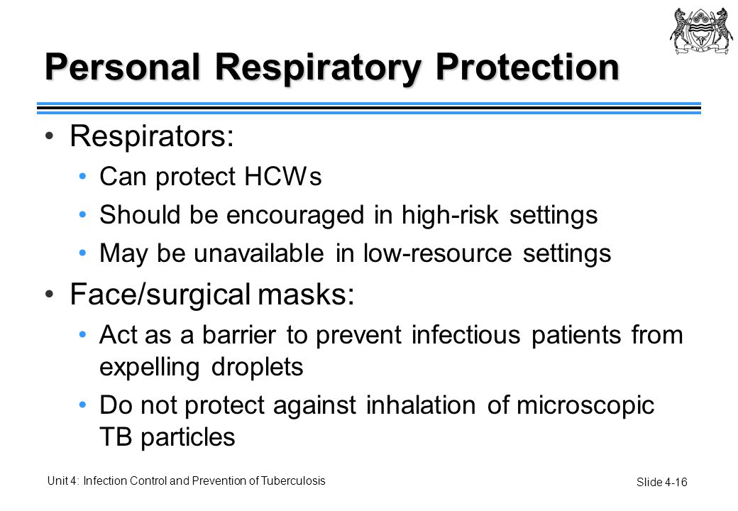 Personal Respiratory Protection