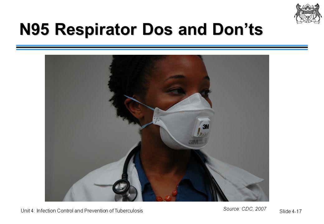 N95 Respirator Dos and Don'ts