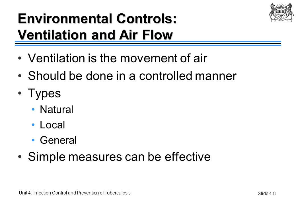 Environmental Controls: Ventilation and Air Flow