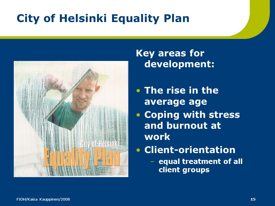 City of Helsinki Equality Plan