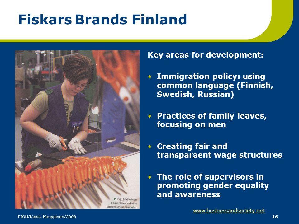 Fiskars Brands Finland