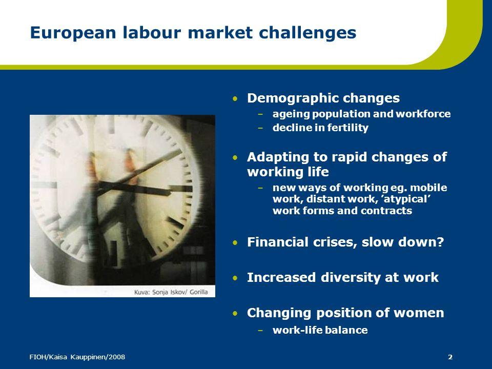 European labour market challenges