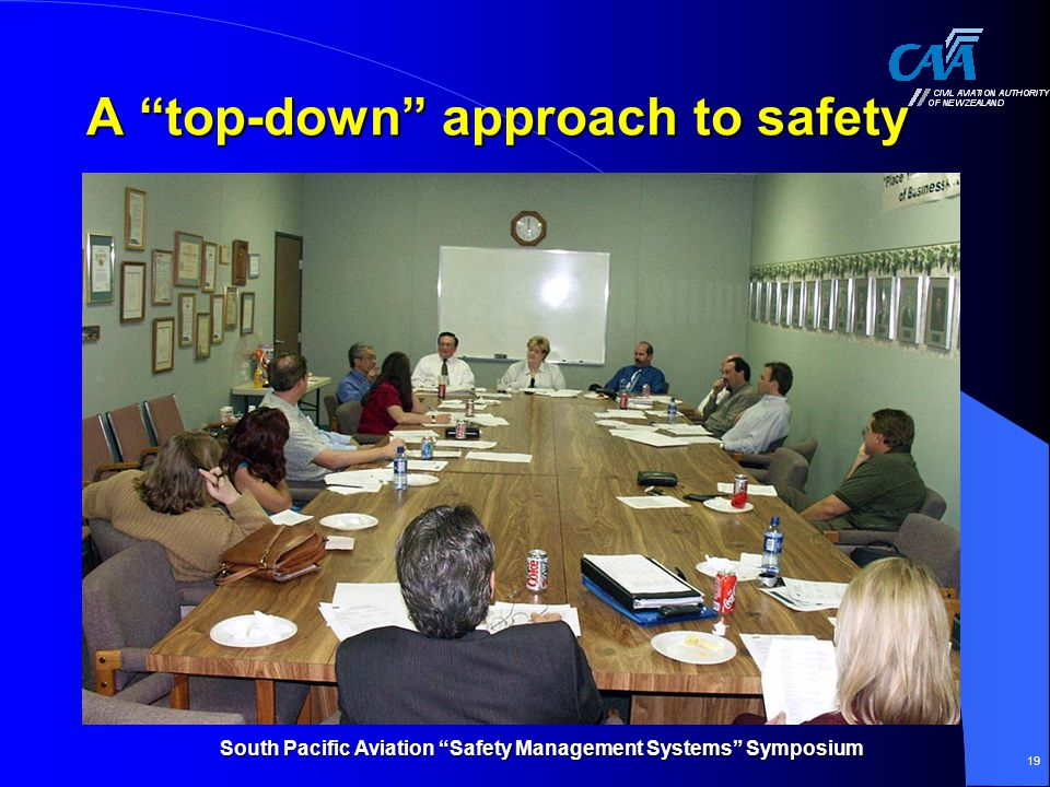A top-down approach to safety
