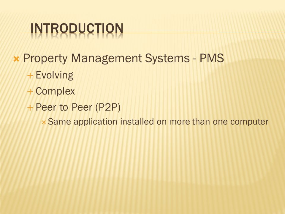 Welcome to PMS Managing Estates