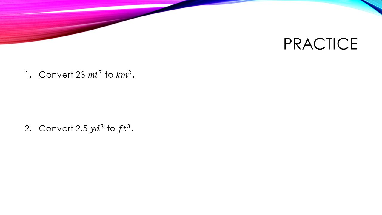 UNITS AND CONVERSIONS. - ppt download