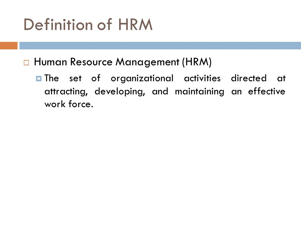 Human Resource Management Law and Legal Definition