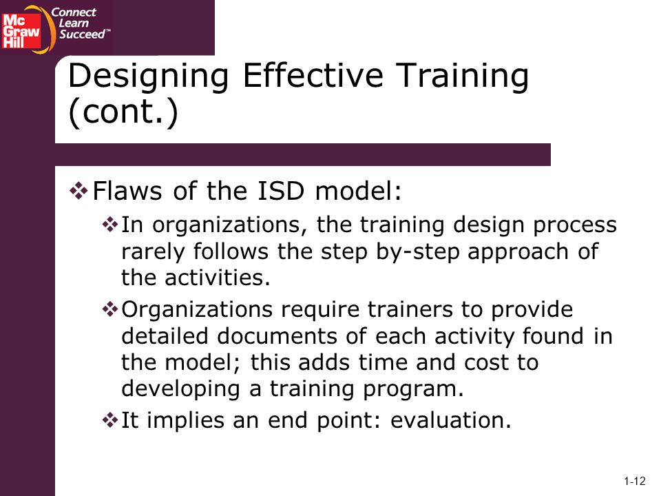 designing an effective training program for a business how Studies have shown that companies tend to lend more weight and attention to  training only new employees and entry-level workers though.