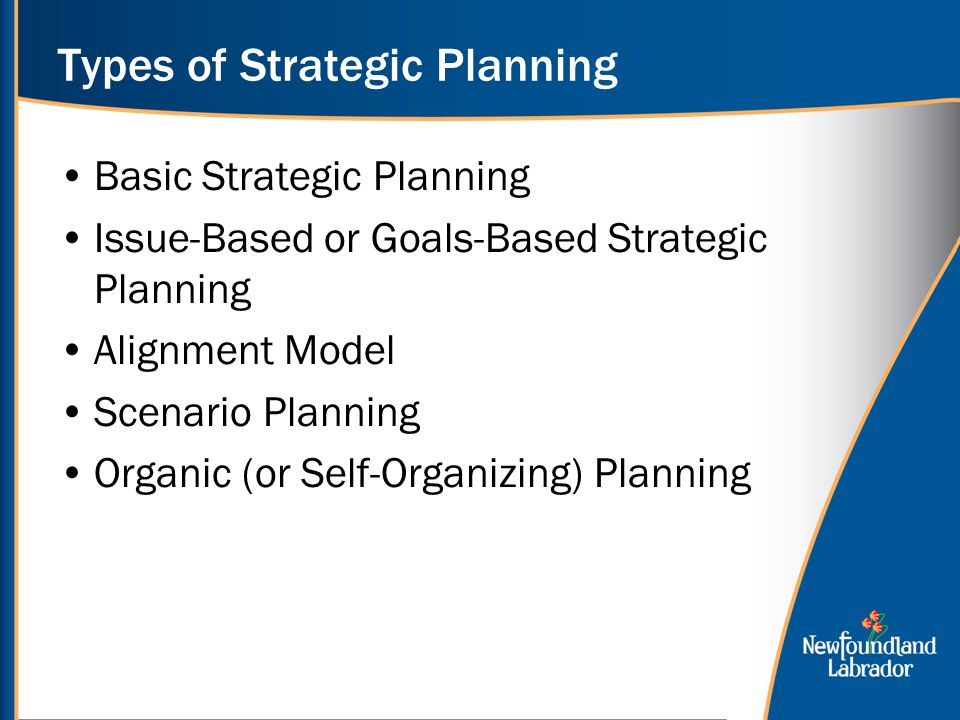 types of strategies Strategic initiatives arise to support three types of strategies corporate strategies have to do with market selection business strategies have to do with competing within a business model.