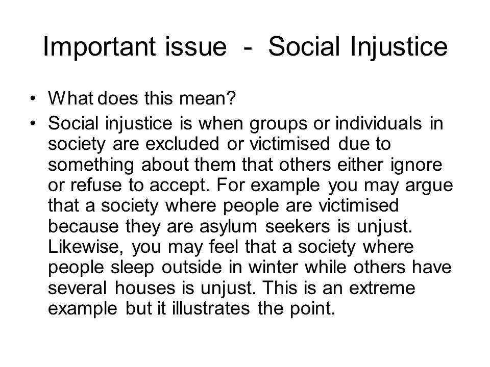 narrative essay injustice Injustice essay injustice essay the theme of injustice is conveyed throughout songs and stories such as the personal story of johnny lee clary, which contains a.