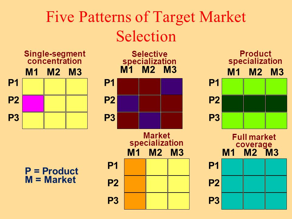 Selecting a Target Market Example